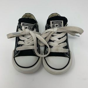 Toddler Black Converse